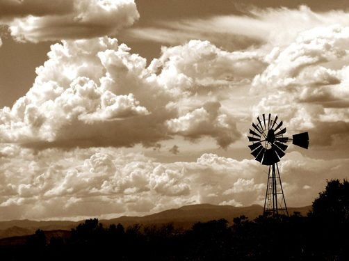Black and white cloud photography by jenny gummersall